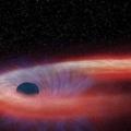 Астрономи вже 10 років спостерігають процес «пожирання» зірки чорною дірою