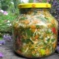 Заготовки супів на зиму рецепти