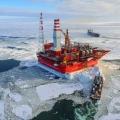 Як видобувають нафта у арктиці: платформа «прирозломного»