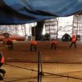 Будівництво дворівневої транспортної розв`язки на дмитрівському шосе (7 фото)