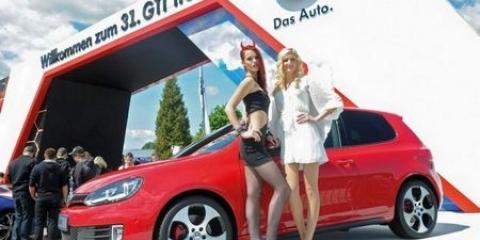 W rthersee show і спортивні volkswagen (15 фото)